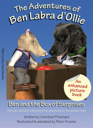 Ben and the Box of Surprises (Enhanced Picture Book) - Ben the Labrador-Collie Dog and His Adventures in the Garden Shed ebook by Christine Pritchard
