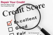 Repair Your Credit: Get Your Credit Score Above 750 ebook by TC Drummond