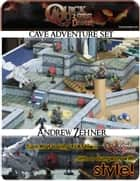 PRINTABLE 3D Dungeon Tiles: Master DM set - for Dungeons and Dragons, D&D, Gurps, Warhammer, or other RPG ebook by Andrew W. Zehner