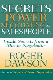 Secrets of Power Negotiating for Salespeople