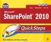 Microsoft SharePoint 2010 QuickSteps ebook by Marty Matthews, Nancy Buchanan