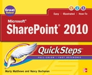 Microsoft SharePoint 2010 QuickSteps ebook by Marty Matthews,Nancy Buchanan