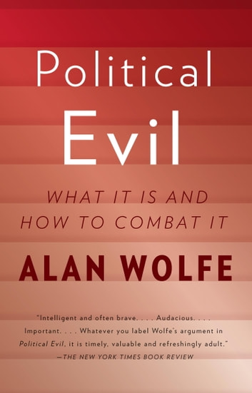 Political Evil - What It Is and How to Combat It ebook by Alan Wolfe