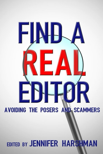 Find a Real Editor ebook by Jennifer Harshman