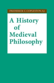A History of Medieval Philosophy ebook by Kobo.Web.Store.Products.Fields.ContributorFieldViewModel