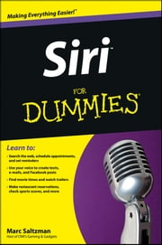 Siri For Dummies ebook by Marc Saltzman