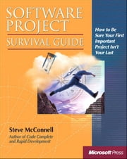 Software Project Survival Guide ebook by Steve McConnell