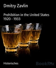 Prohibition in the United States 1920 - 1933 ebook by Dmitry Zavlin