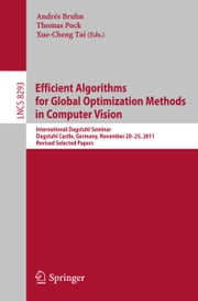 Efficient Algorithms for Global Optimization Methods in Computer Vision - International Dagstuhl Seminar, Dagstuhl Castle, Germany, November 20-25, 2011, Revised Selected Papers ebook by Andrés Bruhn,Thomas Pock,Xue-Cheng Tai