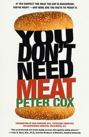 You Don't Need Meat ebook by Peter Cox