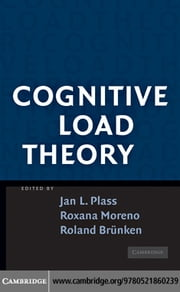 Cognitive Load Theory ebook by Plass, Jan L.