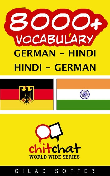 8000+ Vocabulary German - Hindi ebook by Gilad Soffer