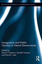 Immigration and Public Opinion in Liberal Democracies ebook by Gary P. Freeman,Randall Hansen,David L. Leal