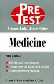 Medicine: PreTest Self-Assessment and Review ebook by Kobo.Web.Store.Products.Fields.ContributorFieldViewModel