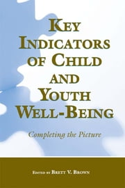 Key Indicators of Child and Youth Well-Being - Completing the Picture ebook by Brett V. Brown