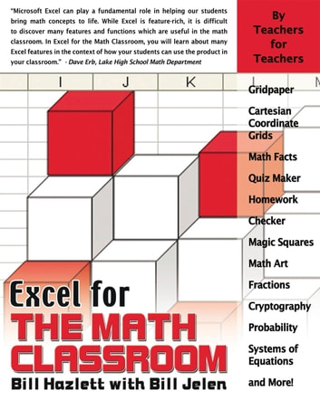 Excel for the Math Classroom eBook by Bill Hazlett