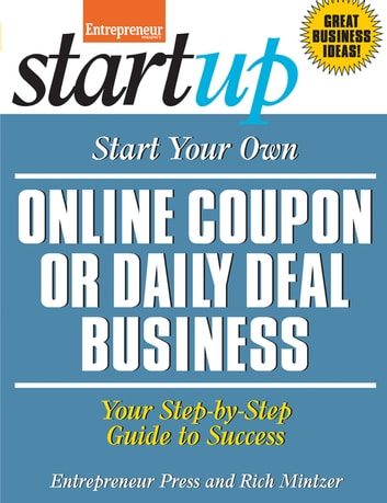 start your own online coupon or daily deal business ebook by rich