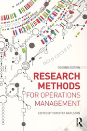 Research Methods for Operations Management ebook by Christer Karlsson