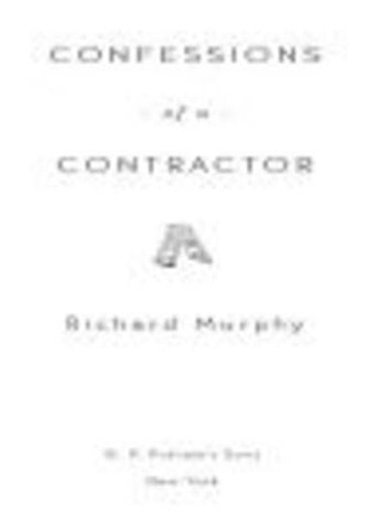 Confessions of a Contractor ebook by Richard Murphy
