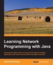 Learning Network Programming with Java ebook by Richard M Reese