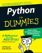 Python For Dummies ebook by Stef Maruch, Aahz Maruch