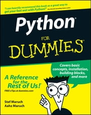Python For Dummies ebook by Stef Maruch,Aahz Maruch