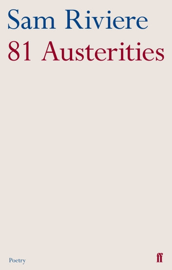 81 Austerities ebook by Sam Riviere