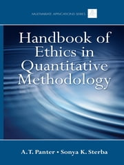 Handbook of Ethics in Quantitative Methodology ebook by A. T. Panter,Sonya K. Sterba