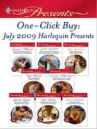 One-Click Buy: July 2009 Harlequin Presents - Billionaire Prince, Pregnant Mistress\The Greek Tycoon's Blackmailed Mistress\The Brunelli Baby Bargain\The Sheikh's Love-Child\Pregnant with the Billionaire's Baby\Pirate Tycoon, Forbidden Baby ebook by Sandra Marton, Lynne Graham, Kim Lawrence,...