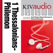 Pure Voice Audio Bible - King James Version, KJV: (35) 1 and 2 Thessalonians, 1 and 2 Timothy, Titus, and Philemon audiobook by Zondervan