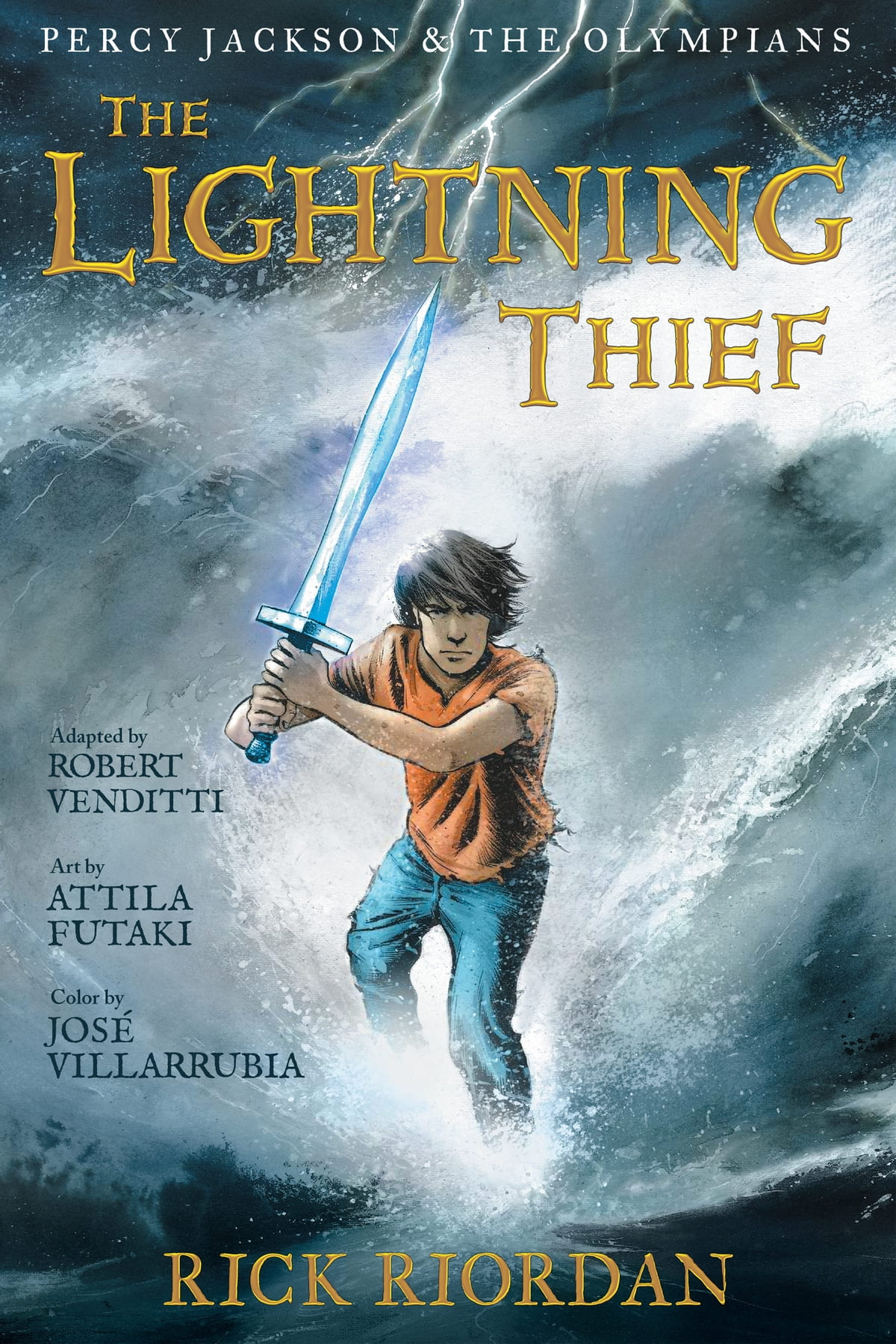 Percy Jackson And The Olympians: The Lightning Thief: The Graphic Novel  Ebook By Rick