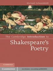 The Cambridge Introduction to Shakespeare's Poetry ebook by Michael Schoenfeldt