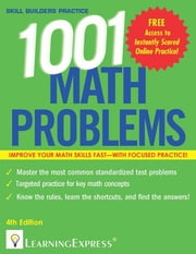 1,001 Math Problems ebook by Learning Express, LLC