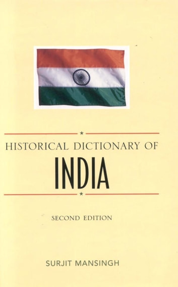 Historical Dictionary of India ebook by Surjit Mansingh