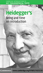 Heidegger Being and Time ebook by Gorner,Paul