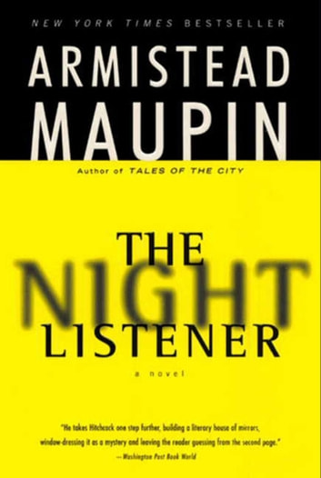 The Night Listener Ebook By Armistead Maupin 9780061983801