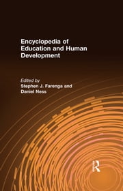 Encyclopedia of Education and Human Development ebook by Kobo.Web.Store.Products.Fields.ContributorFieldViewModel