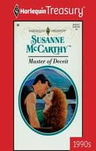 Master of Deceit ebook by Susanne McCarthy
