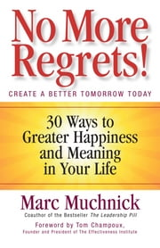 No More Regrets! - 30 Ways to Greater Happiness and Meaning in Your Life ebook by Mark Muchnick