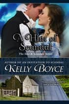 A Hint of Scandal eBook by Kelly Boyce