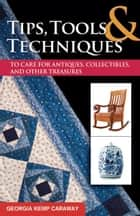Tips, Tools, and Techniques to Care for Antiques, Collectibles, and Other Treasures ebook by Georgia Kemp Caraway
