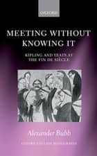 Meeting Without Knowing It ebook by Alexander Bubb
