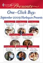 One-Click Buy: September 2009 Harlequin Presents ebook by Marion Lennox, Miranda Lee, Melanie Milburne,...