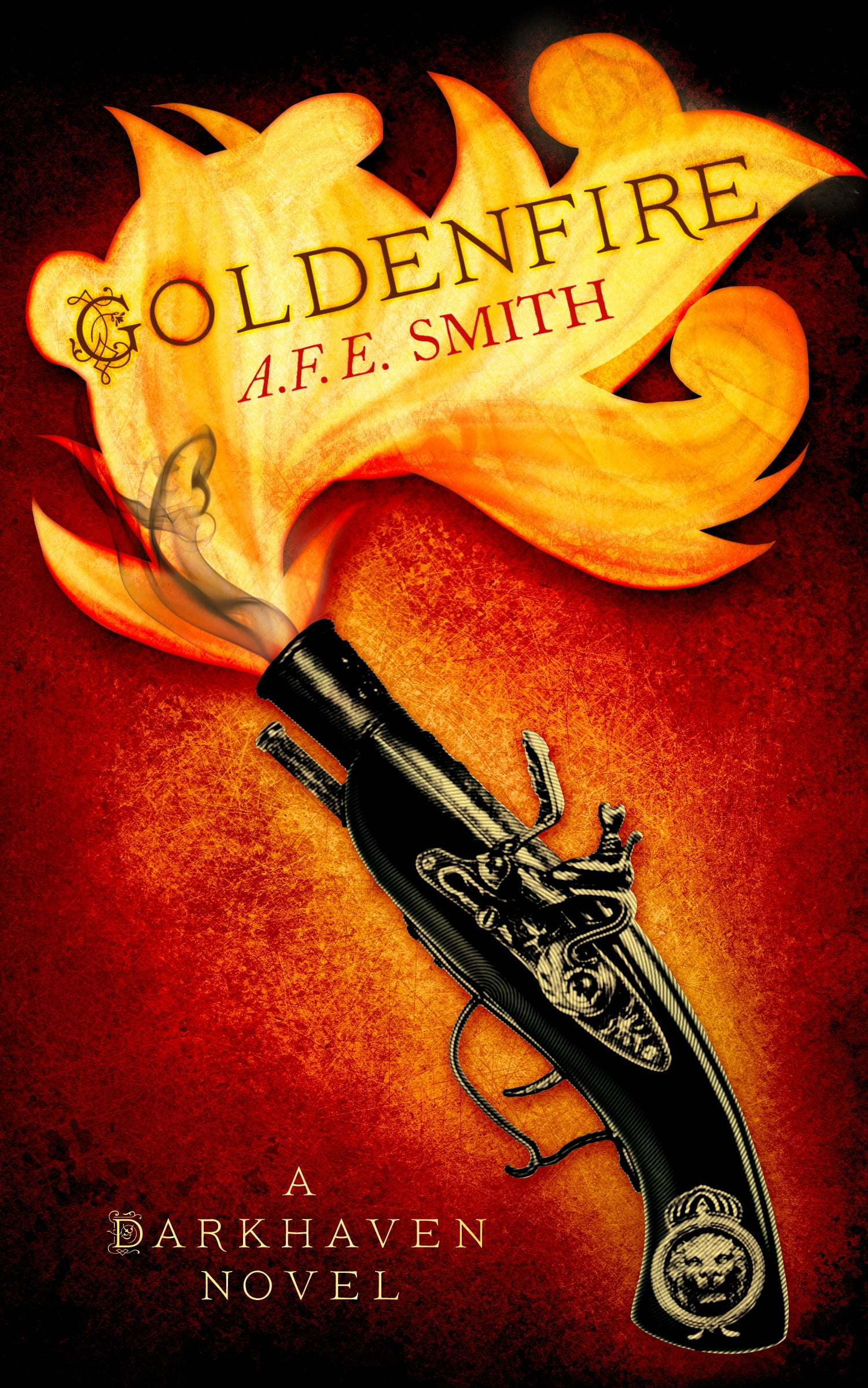 Review of Goldenfire (The Darkhaven Novels, Book 2) by A. F. E. Smith