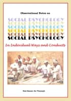 Social Psychology ebook by Ram Bansal