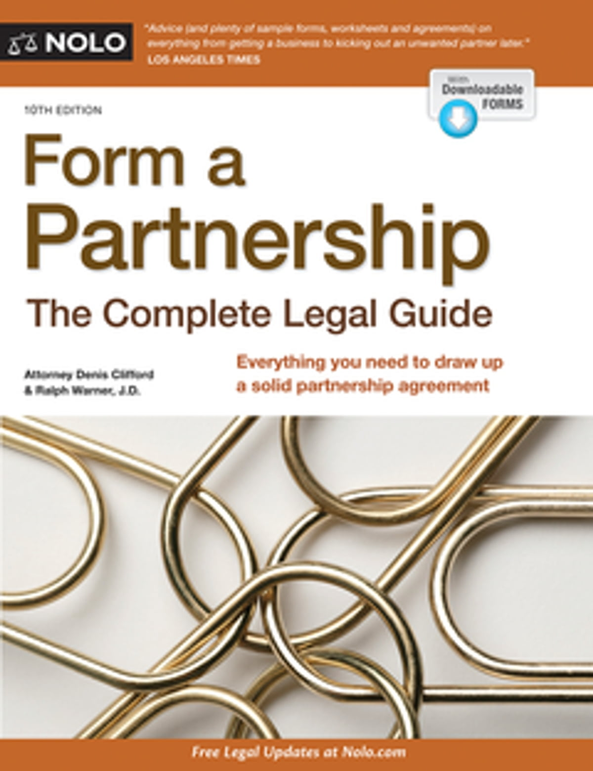 Form A Partnership Ebook By Denis Clifford Attorney 9781413324471