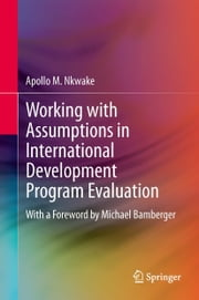Working with Assumptions in International Development Program Evaluation - With a Foreword by Michael Bamberger ebook by Apollo M. Nkwake