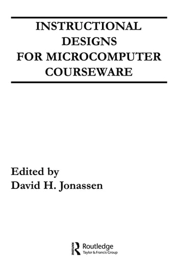 Instruction Design for Microcomputing Software ebook by