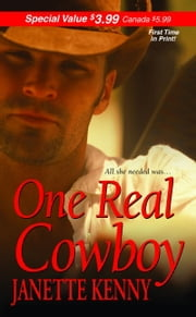 One Real Cowboy ebook by Janette Kenny