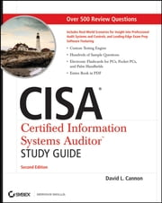 CISA Certified Information Systems Auditor Study Guide ebook by David L. Cannon